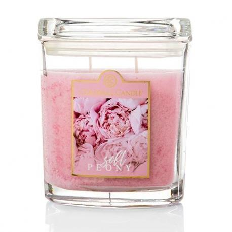 Moyenne jarre ovale SOFT PEONY Colonial Candle Difmu