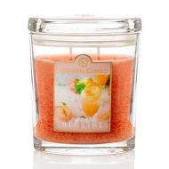 Moyenne jarre ovale PEACH BELLINI Colonial Candle