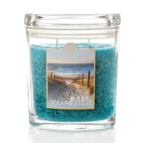 Moyenne jarre ovale PURE OCEAN BREEZE Colonial Candle Difmu