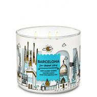 Bougie 3 mèches BARCELONA Bath and Body Works Difmu