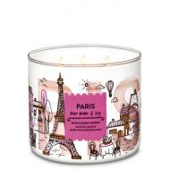 Bougie 3 mèches PARIS Bath and Body Works Difmu