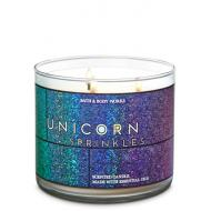 Bougie 3 mèches UNICORN SPRINKLES Bath and Body Works Difmu