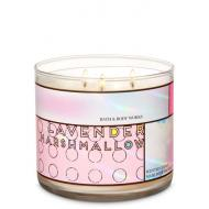 Bougie 3 mèches LAVENDER MARSHMALLOW Bath and Body Works Difmu