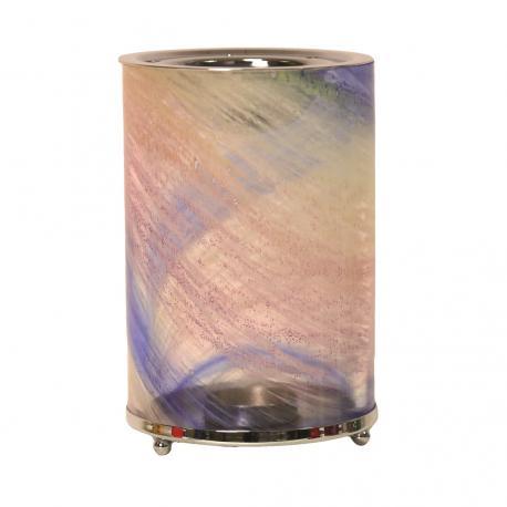 Brûleur de cire parfumée ROSE BLEU 14,5cm Difmu