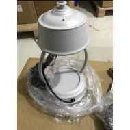 Lampe chauffante pour bougie LANTERNE GRIS CLAIR