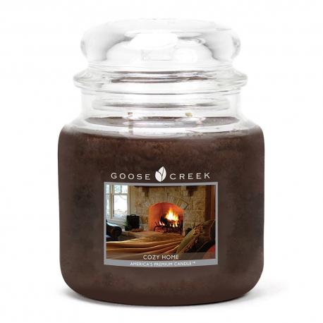 Moyenne Jarre 2 mèches COZY HOME Goose Creek Candle DIFMU