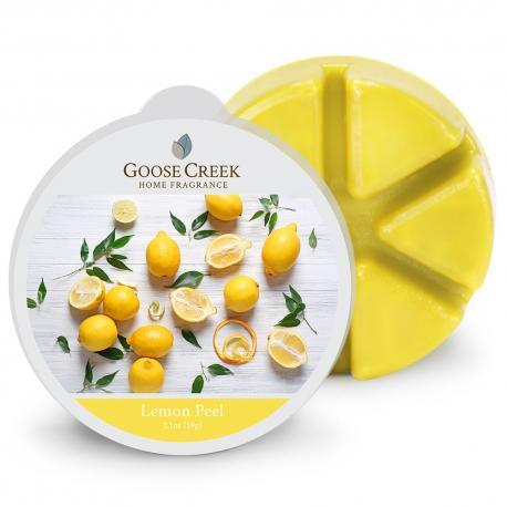 Cire parfumée LEMON PEEL Goose Creek Candle Difmu