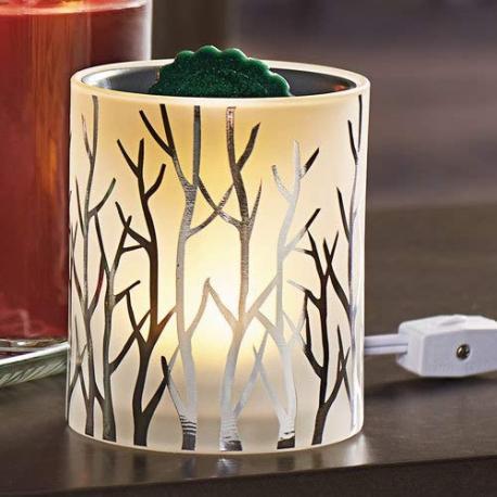 Brûleur de tartelettes électrique FOREST GLOW Yankee Candle Difmu