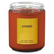 Bougie moyenne AMBER Bath and Body Works