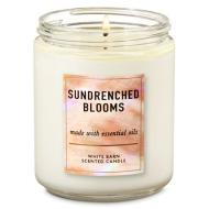 Bougie moyenne SUNRENCHED BLOOMS Bath and Body Works DIFMU