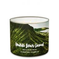 Bougie 3 mèches WAIKIKI BEACH COCONUT Bath and Body Works