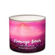 Bougie 3 mèches FLAMINGO BEACH Bath and Body Works