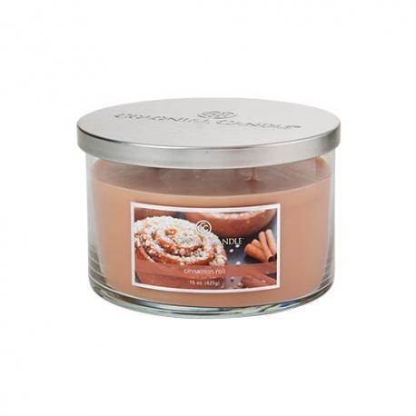 Bougie 3 mèches CINNAMON ROLL Colonial Candle