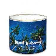 Bougie 3 mèches ISLAND HIDEAWAY Bath and Body Works