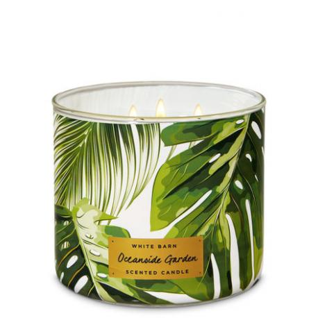 Bougie 3 mèches OCEANSIDE GARDEN Bath and Body Works