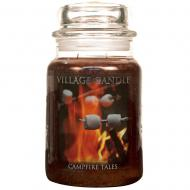 Grande Jarre 2 mèches CAMPFIRE TALES Village Candle S'mores Difmu