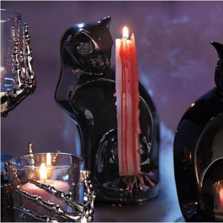 Porte chandelle SUPERSTITION BLACK CAT Yankee Candle