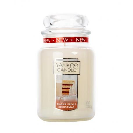 Grande Jarre SUGAR FROST CHRISTMAS Yankee Candle