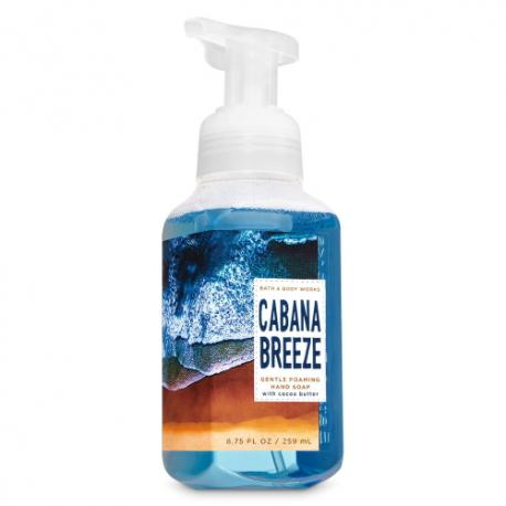 Savon mousse CABANA BREEZE Bath and Body Works Hand Soap
