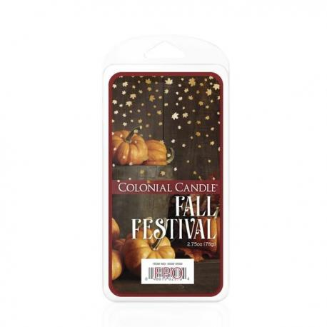 Cire parfumée FALL FESTIVAL Colonial candle