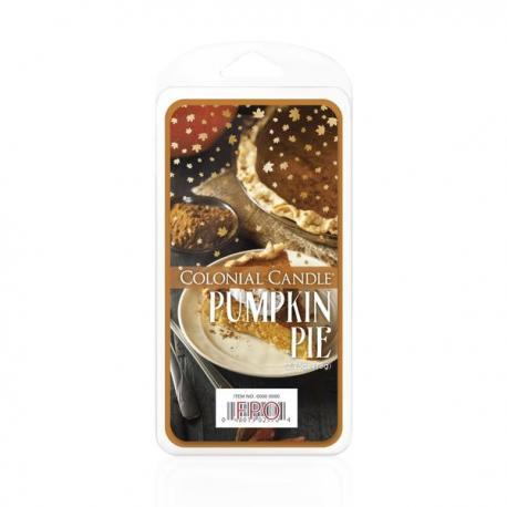 Cire parfumée PUMPKIN PIE Colonial candle
