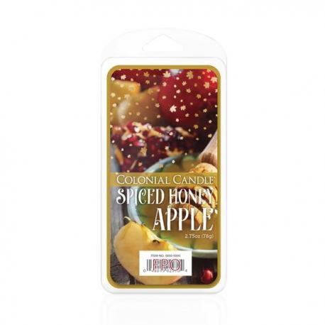 Cire parfumée SPICED APPLE HONEY Colonial candle