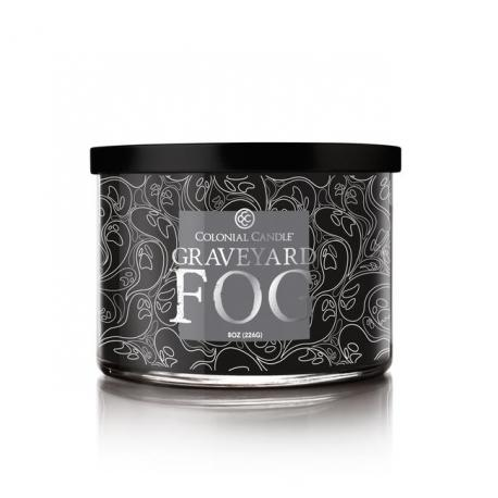 Bougie 3 mèches GRAVEYARD FOG Colonial Candle