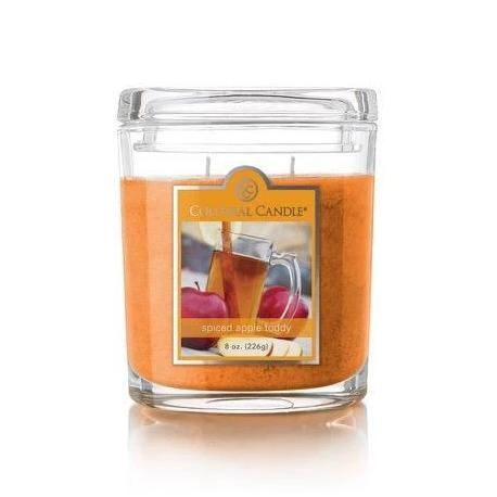 Moyenne jarre ovale SPICED APPLE TODDY Colonial Candle