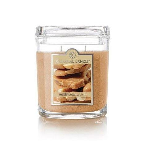 Moyenne jarre ovale MAPLE BUTTERSCOTCH Colonial Candle