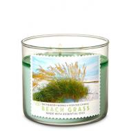 Bougie 3 mèches BEACH GRASS Bath and Body Works