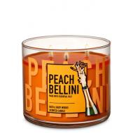 Bougie 3 mèches PEACH BELLINI Bath and Body Works