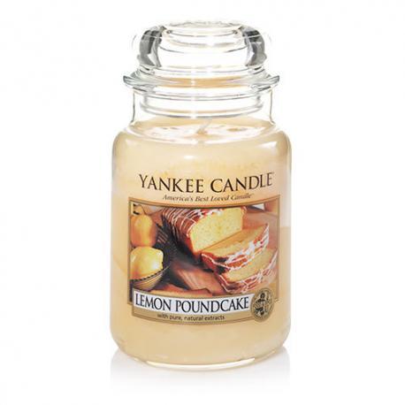 Bougie parfumée Grande Jarre LEMON POUND CAKE Yankee Candle exclu US USA
