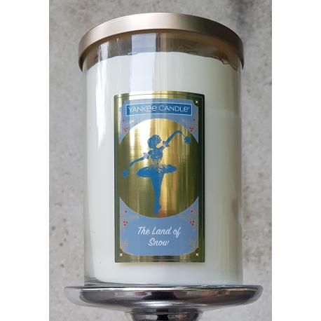 Grand Tumbler 2 mèches THE LAND OF SNOW Yankee Candle