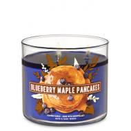 Bougie 3 mèches BLUEBERRY MAPLE PANCAKES Bath and Body Works