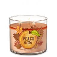 Bougie 3 mèches PEACH COBBLER Bath and Body Works US