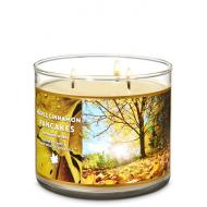 Bougie 3 mèches MAPLE CINNAMON PANCAKES Bath and Body Works
