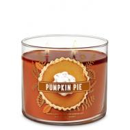 Bougie 3 mèches PUMPKIN PIE Bath and Body Works