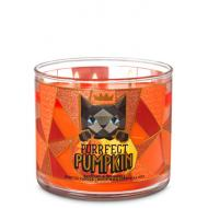 Bougie 3 mèches PURRFECT PUMPKIN Bath and Body Works