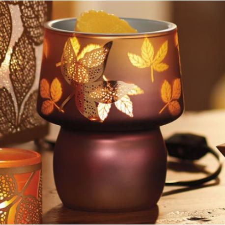 Brûleur électrique AMBER LEAVES Yankee Candle