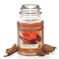 Grande Jarre HONEY AND SPICE Yankee Candle Difmu
