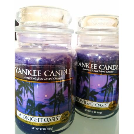 Grande Jarre 2e choix MIDNIGHT OASIS Yankee Candle
