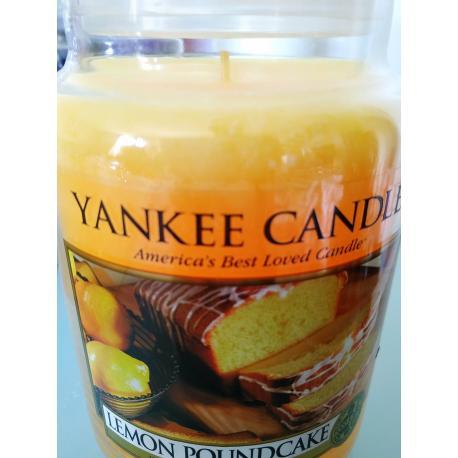 Grande Jarre LEMON POUNDCAKE Yankee Candle