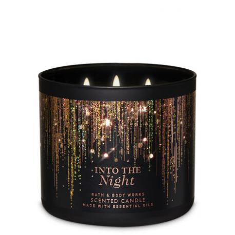 Bougie 3 mèches INTO THE NIGHT Bath and Body Works