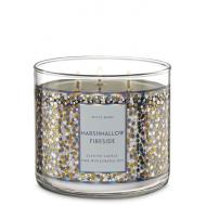 Bougie 3 mèches MARSHMALLOW FIRESIDE Bath and Body Works Difmu
