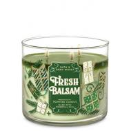 Bougie 3 mèches FRESH BALSAM Bath and Body Works