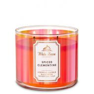 Bougie 3 mèches SPICED CLEMENTINE Bath and Body Works