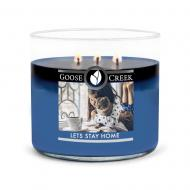 Bougie 3 mèches LET'S STAY HOME Goose Creek Candle