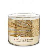 Bougie 3 mèches CARAMEL DRIZZLE Bath and Body Works