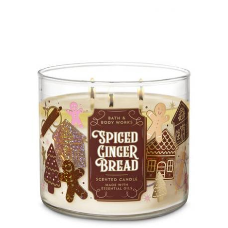 Bougie 3 mèches SPICED GINGERBREAD Bath and Body Works