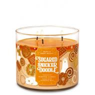 Bougie 3 mèches SUGARED SNICKERDOODLE Bath and Body Works